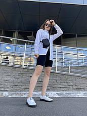 VM-Villomi Шкіряні білі туфлі з ремінцем, фото 3