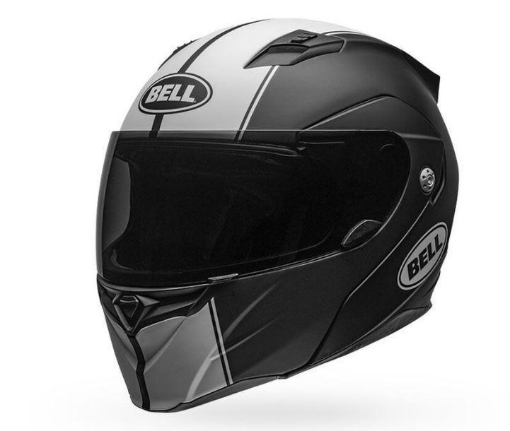 Шолом Bell Helmets Matte Black / White Revolver Evo Helmet