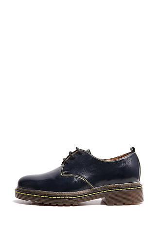 VM-Villomi Синие лаковые туфли дерби, фото 2