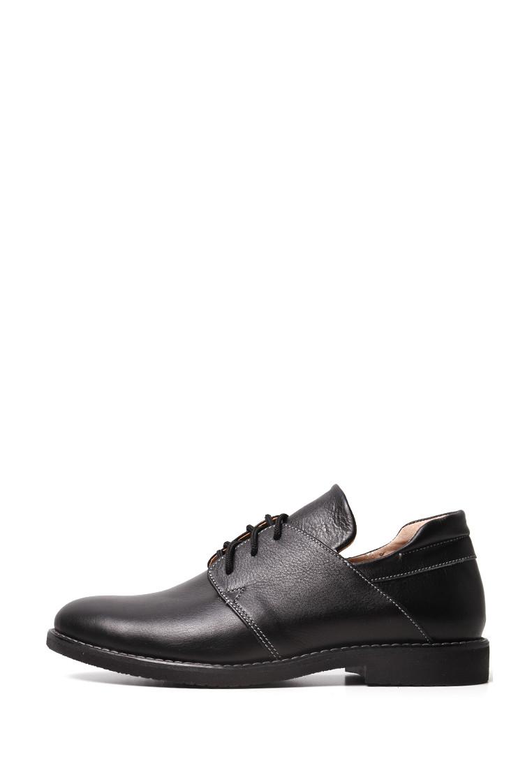 VM-Villomi Черные классические кожаные туфли на низком ходу