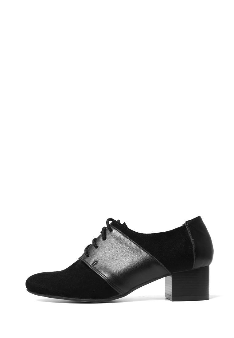 VM-Villomi Закрытые туфли черного цвета на небольшом каблуке