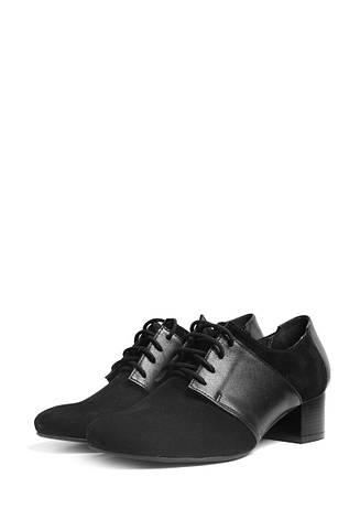 VM-Villomi Закрытые туфли черного цвета на небольшом каблуке, фото 2