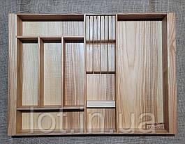 Лоток для столовых приборов  P560-650.400 ясень