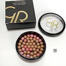 Рум'яна кулькові Ball Blusher Golden Rose 01