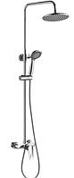 Душевая система с смесителем Haiba SIRIUS 003-J душевая колона с лейкой и тропическим душем латунная