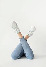 VM-Villomi Кожаные светлые кроссовки, фото 3