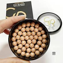 Рум'яна кулькові Ball Blusher Golden Rose 02