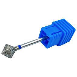 Насадка для фрезера з алмазним напиленням синя насічка