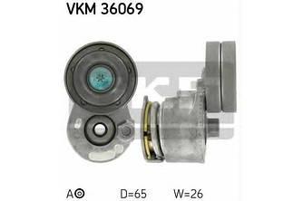 Натяжитель ручейкового ремня на Renault Trafic  2001->  1.9dCi (-AC) — SKF (Швеция) - VKM 36069