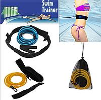 Эспандер-резинки для плаванья. Набор для тренировок по плаванью и рывка. Тренировочные резинки.