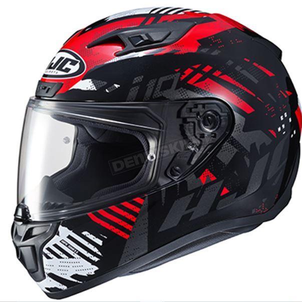 Шолом HJC Red / Black / White i10 Fear MC-1