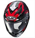 Шолом HJC Red / Black / White i10 Fear MC-1, фото 3