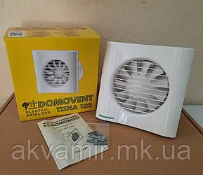 Бытовой вентилятор Домовент Тиша 125 для вытяжной вентиляции