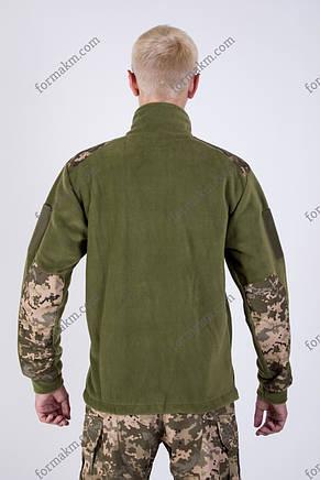 Флисовая Кофта Военная Олива, фото 2
