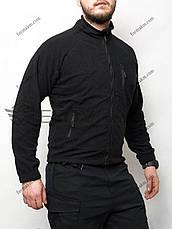 Тактическая кофта флис ESDY Черная, фото 2