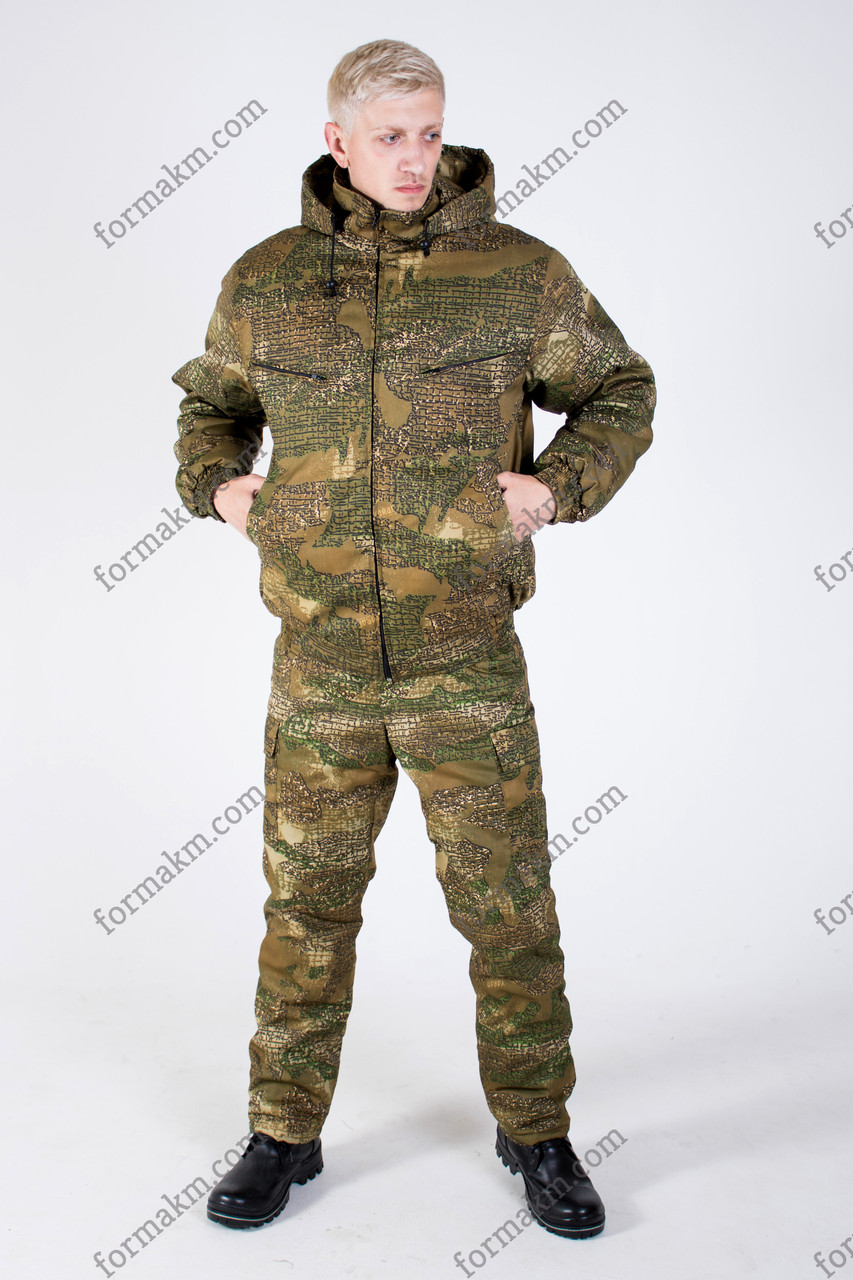 Камуфляжний костюм зимовий Варан