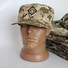 Кепка Військова, армійська Мазепинка Піксель ЗСУ з Гербом