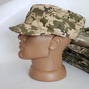 Кепка Військова, армійська Мазепинка Піксель ЗСУ з Гербом, фото 2