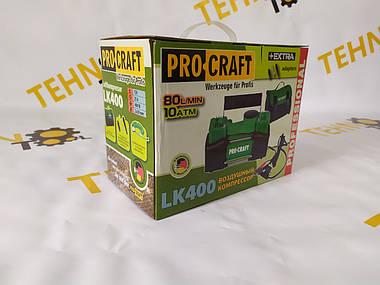 Двухпоршневой автомобильный компрессор Procraft-LK400., фото 3