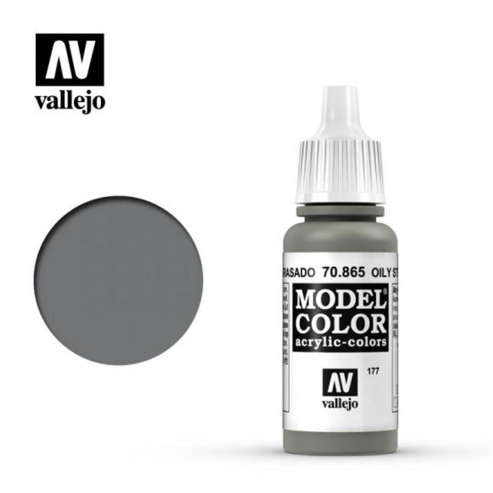 Vallejo Model Color Oily Steel