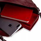 Жіноча шкіряна сумочка Betlewski 31 х 27 х 15 (TWB-LIC-16) - червона, фото 2