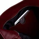 Жіноча шкіряна сумочка Betlewski 31 х 27 х 15 (TWB-LIC-16) - червона, фото 3