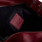 Жіноча шкіряна сумочка Betlewski 31 х 27 х 15 (TWB-LIC-16) - червона, фото 4