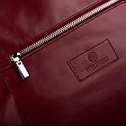 Жіноча шкіряна сумочка Betlewski 31 х 27 х 15 (TWB-LIC-16) - червона, фото 6
