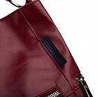 Жіноча шкіряна сумочка Betlewski 31 х 27 х 15 (TWB-LIC-16) - червона, фото 7