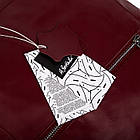 Жіноча шкіряна сумочка Betlewski 31 х 27 х 15 (TWB-LIC-16) - червона, фото 8