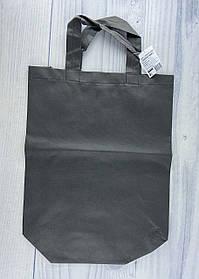 Эко сумка с ручками Серый 19601Ф 4Profi Украина