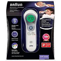 Бесконтактный инфракрасный термометр Braun NTF 3000 детский термометр, фото 5