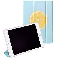 Чехол-книжка Colored Cover для Apple iPad Mini 1 / 2 / 3 (Wake / Sleep) Big Lemon