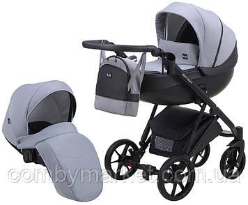 Детская коляска 2 в 1 Bair Next Soft 10 серый
