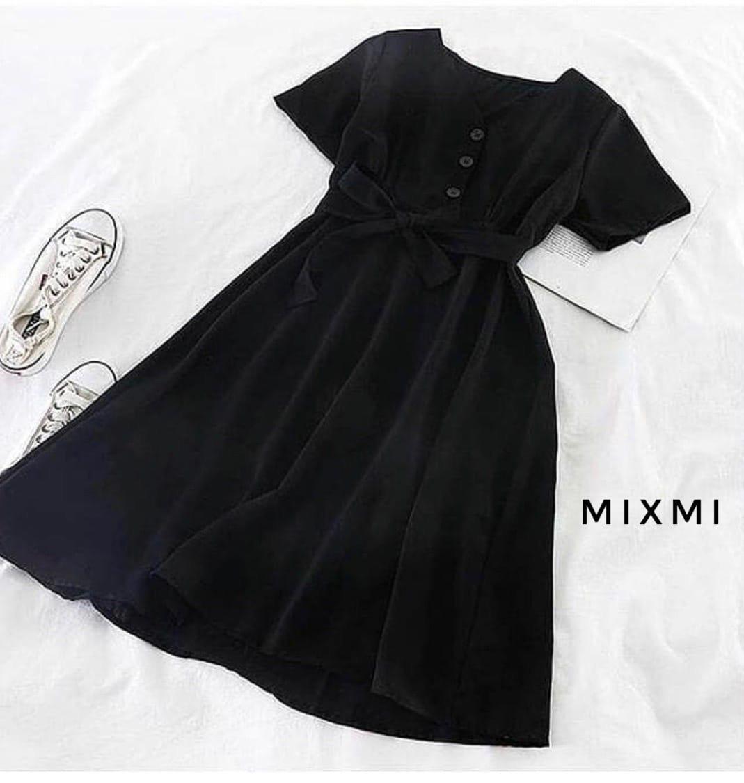 Жіноче плаття, софт, р-р 42-44; 44-46 (чорний)