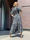 Сукня жіноча чорне з принтом Sonya Scandal MKSS220420, фото 3