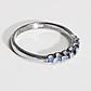 Серебряное кольцо с сапфиром, 2721КЦС, фото 2