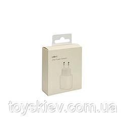 СЗУ USB-C iPhone12 18W Original  (80 шт/ящ)