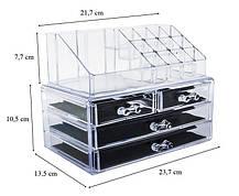 УЦІНКА! Акриловий органайзер Cosmetic Storage Box для косметики (УЦ-№295), фото 2