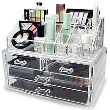 УЦІНКА! Акриловий органайзер Cosmetic Storage Box для косметики (УЦ-№295), фото 3