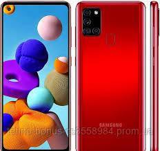 Смартфон Samsung Galaxy A21s Red 3/32GB (SM-A217FZKN)