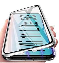 Двосторонній магнітний чохол FULL GLASS 360° для Xiaomi Mi 11 Lite