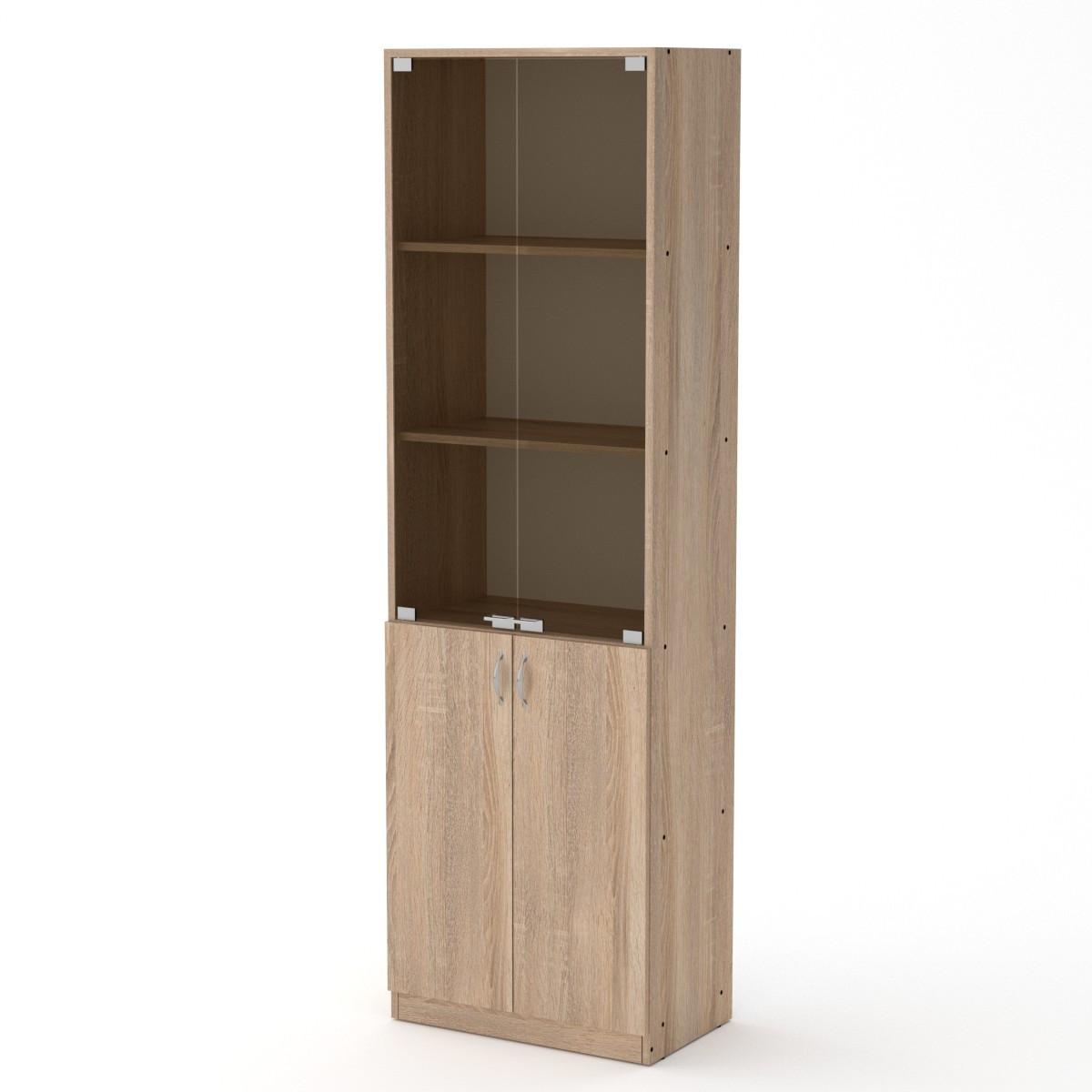 Шкаф офисный Компанит КШ-6 Дуб сонома