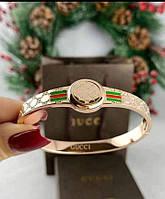 Стильный ,модный женский браслет от Gucci прем качества в желтом и розовом золоте в полной упаковке бренда!!!