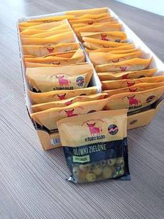 Іспанські оливки зелені без кісточки El Toro Rojo, в пакеті 160г, Польща