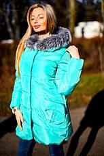 Женская зимняя куртка на синтепоне , фото 2