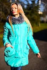 Женская зимняя куртка на синтепоне , фото 3