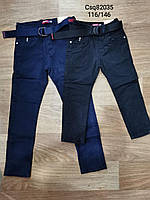 Котоновые брюки для мальчиков Seagull 116-146 р.р, фото 1