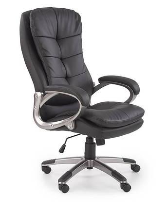 Крісло комп'ютерне PRESTON чорний (Halmar), фото 2