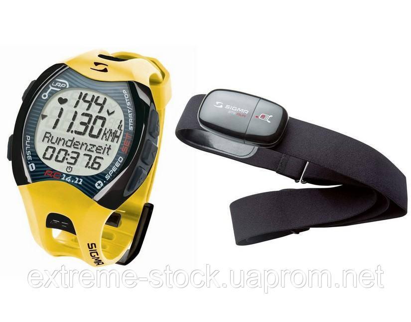 Пульсометр Sigma Sport RC 14.11 HR, датчик R3 Comfortex+